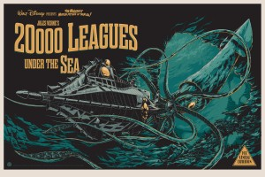 The poster for Disney's 20,000 Leagues Under the Sea. The people have spoken and they want more tentacles!