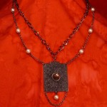 Victorian Steampunk Doorknob Society Necklace N25_3