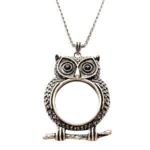 Owl Monocle Necklace