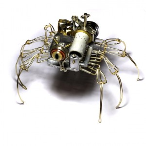 Steampunk Musical Clockwork Spider