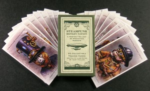 Steampunk Monkey Card Pack