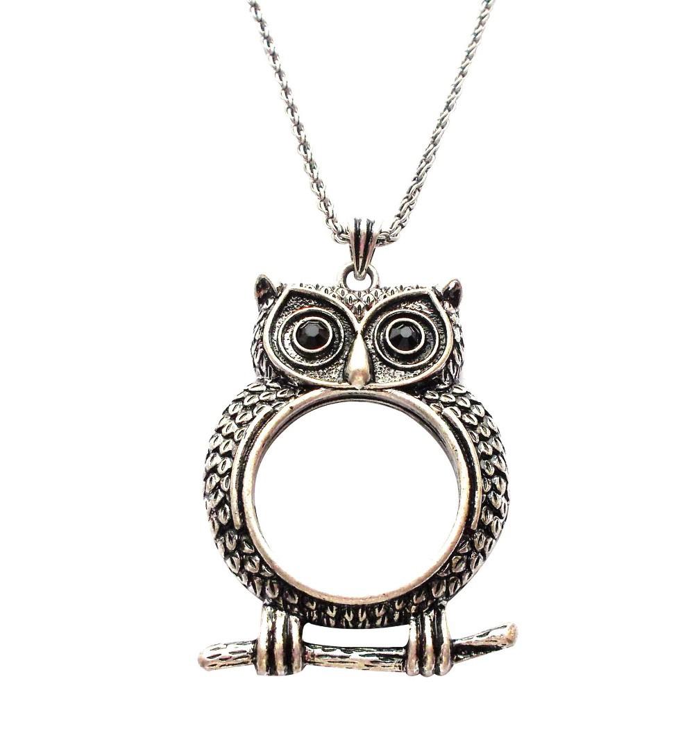 Owl Monocle Necklace