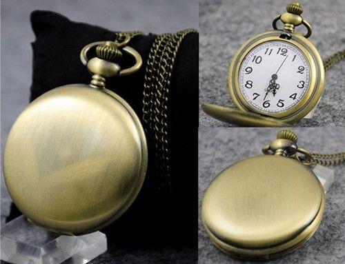 Brass Watch Necklace